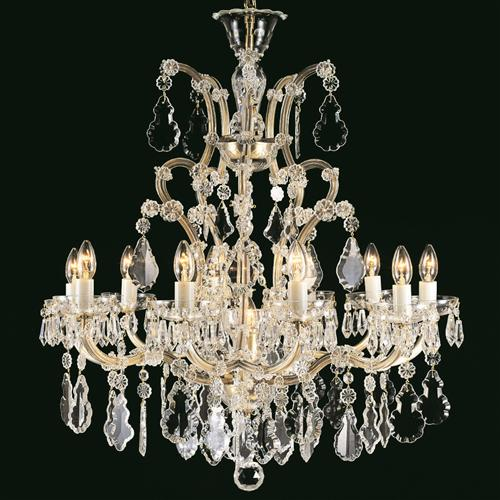 Misto Crystal Multi-Arm Chandelier Cb145310/11