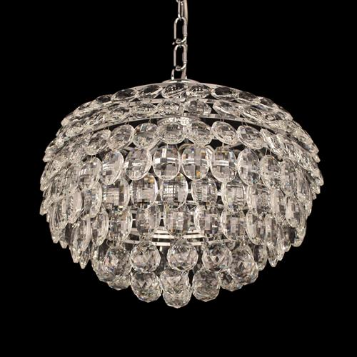 Adaliz Medium Crystal Ceiling Pendant Cf311201/04/Ch