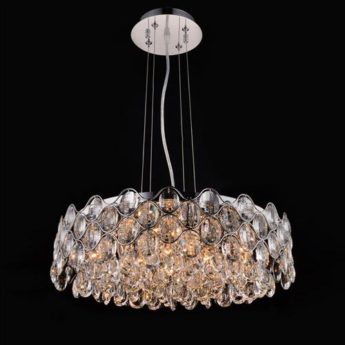 CF412181/12/CH Raina Large Crystal Ceiling Pendant