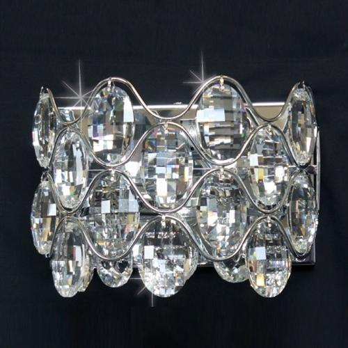 Raina Crystal Wall Light Cf412181/02/Wb/Ch