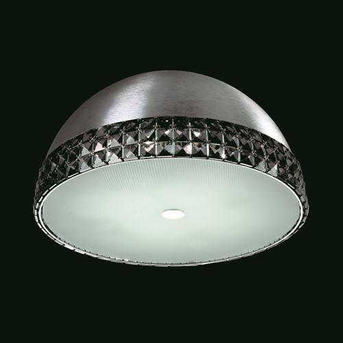 Polo Flush Crystal Ceiling Fitting Cfh211161/04/Smk/Pl