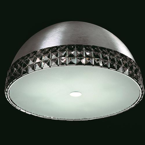 CFH211161/05/SMK/PL Polo Flush Crystal Ceiling Fitting