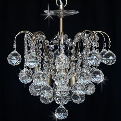 CFH401091/02/AB Emmie Asian Crystal Ceiling Pendant