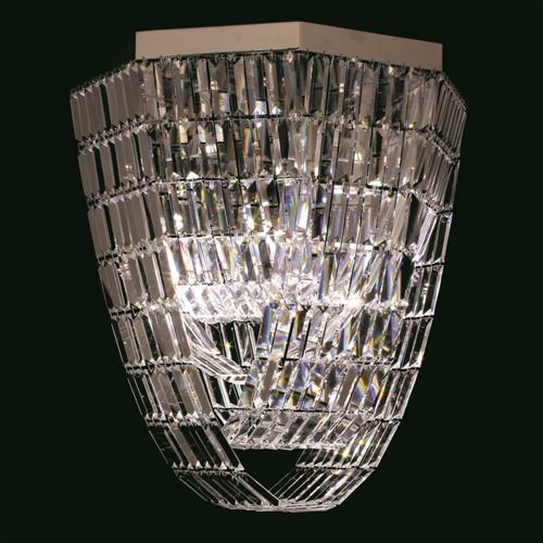 ST005048/OCT/CH Crystal Art Octagon Ceiling Fitting