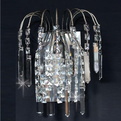 Shower Crystal Wall Light St01700/Wb/An