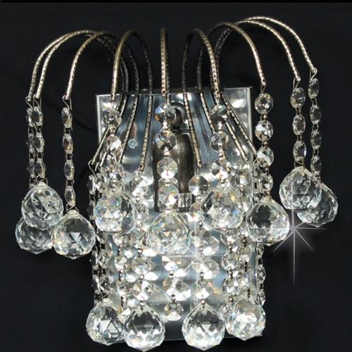 Shower Crystal Wall Light St01800/Wb/An
