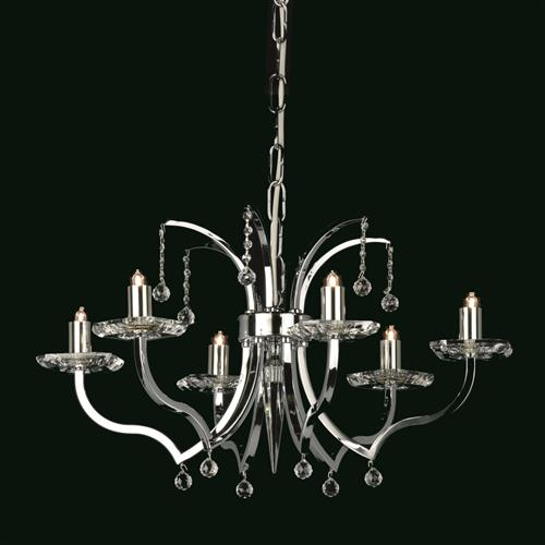 Bayonne Crystal Multi-Arm Ceiling Light Sth07008/06/N