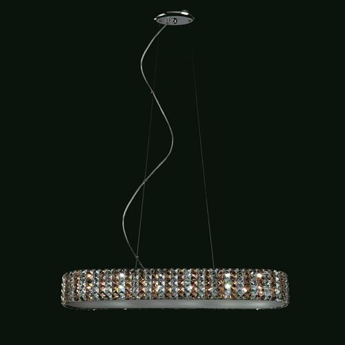 Agora Crystal Ceiling Pendant Cfh211232/06/Amb/Ch