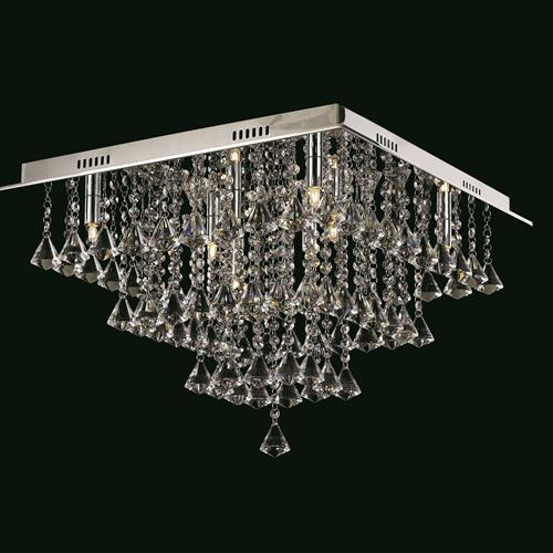 CFH301171/08/PL/CH Parma Square Crystal Ceiling Fitting