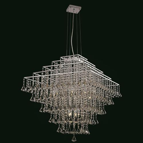 CFH301171/12/CH Parma Large Crystal Ceiling Pendant