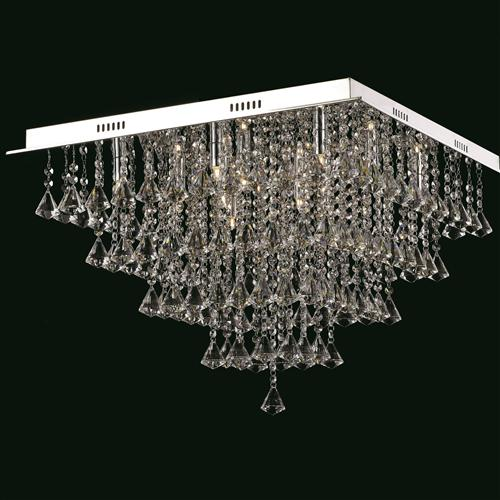 Parma Crystal Ceiling Fitting Cfh301171/12/Pl/Ch