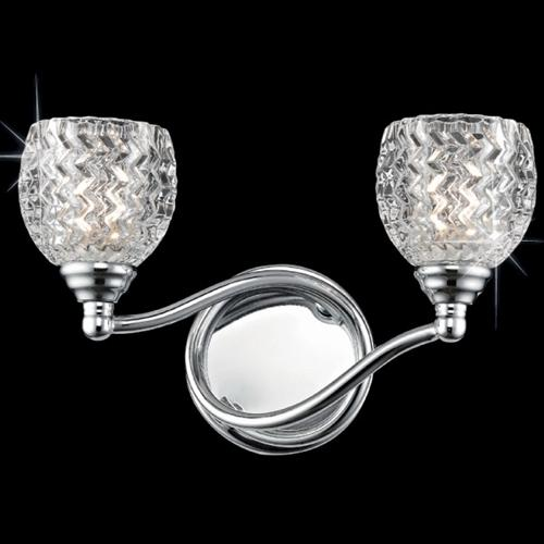 CFH412171/02/WB/CH Musette Crystal Double wall Light