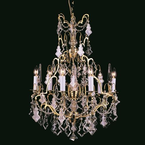 Montmartre Crystal Chandelier Cp00669/6+1/Fg