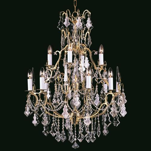 Montmartre Crystal Chandelier Cp00669/8+4+1/Fg