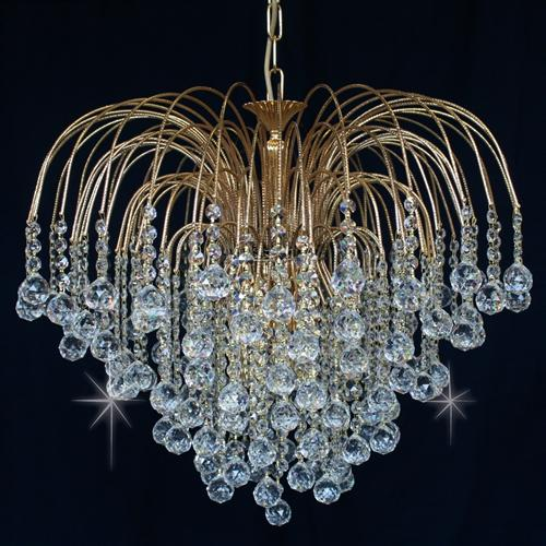 Shower Multiple Tiered Crystal Pendant St01800/60/06/G