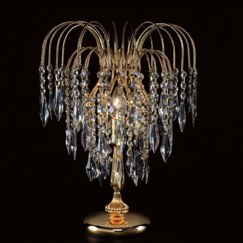 Shower Crystal Table Lamp St01900/Tl/G