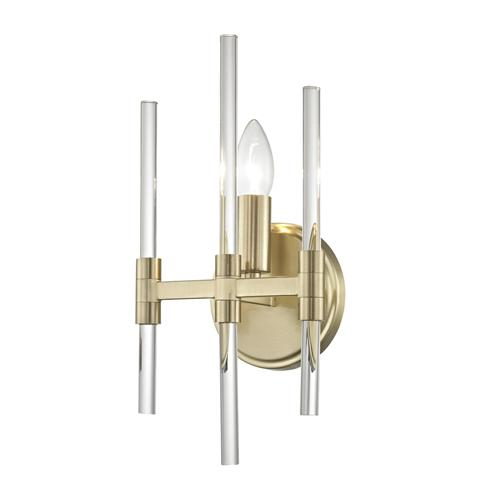 Verna Satin Gold Wall Light Pg1701/01/Wb/Sg