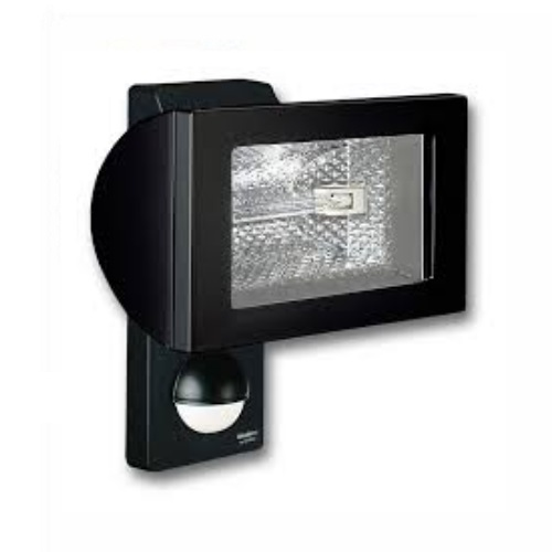 HS502 Black Sensor Flood Light