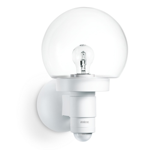 Outdoor Globe Sensor Light L115 S White (657413)