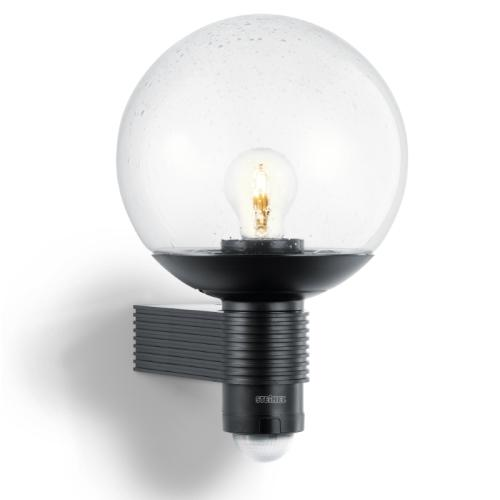 L400s Globe Black Outdoor Sensor Wall Light L400s Black