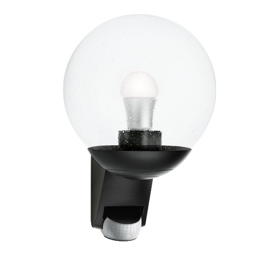 Globe Outdoor PIR Light L585 S Black