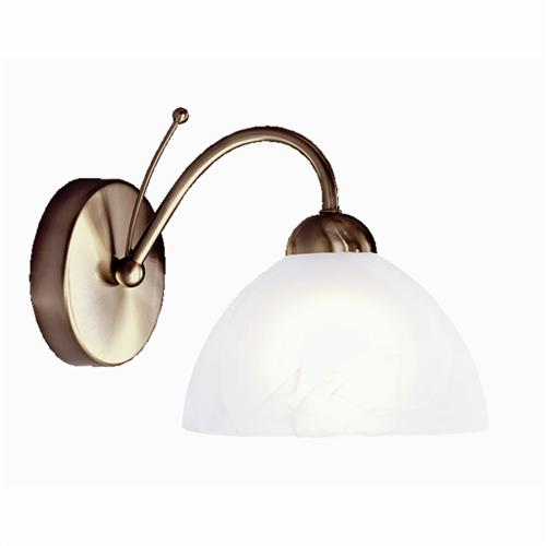 Single Wall Light 1131-1AB Antique Brass