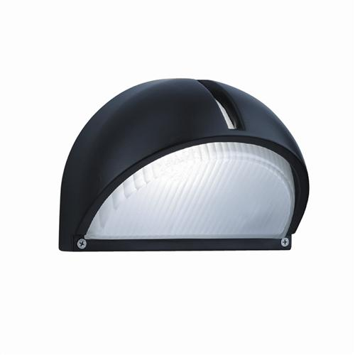 130 Black IP44 Rated Outdoor Wall Light