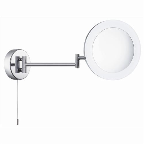 Illuminated LED Chrome Adjustable Bathroom Mirror 1456Cc