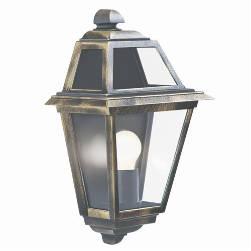 New Orleans IP44 Outdoor Wall Half Lantern 1523