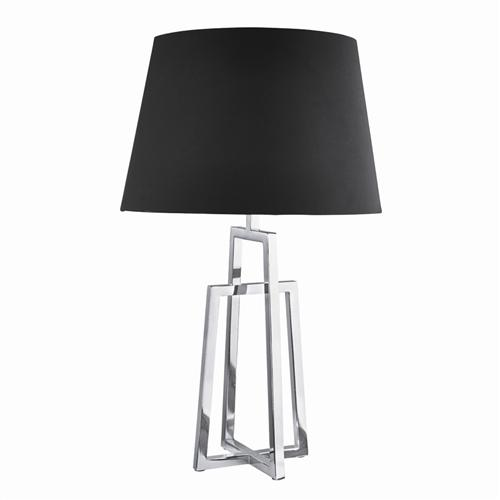 1533CC-1 Chrome Crossed Frame Table Lamp