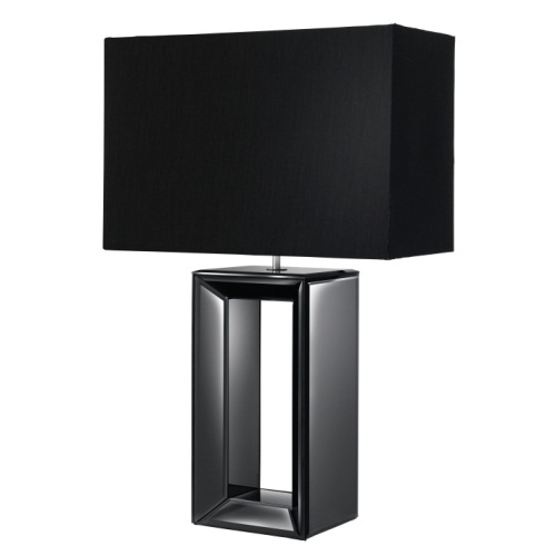 Reflections Table Lamp Black Finished 1610Bk