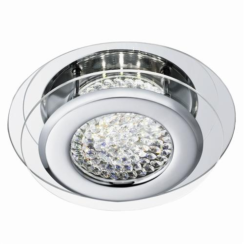 Vesta LED Flush Crystal Light 1692Cc