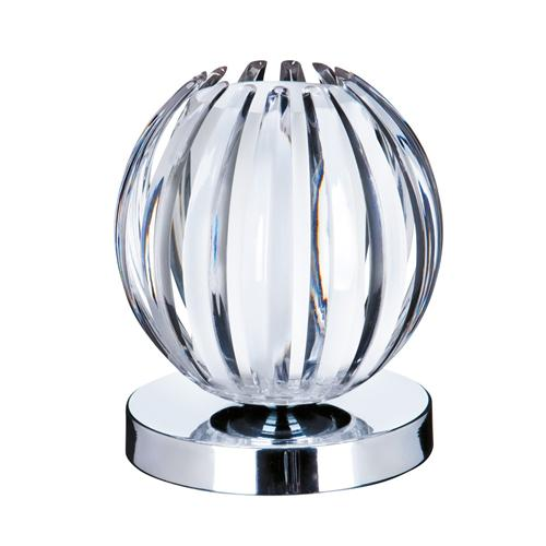Chrome And Frosted Glass Touch Table Lamp 1811Cl