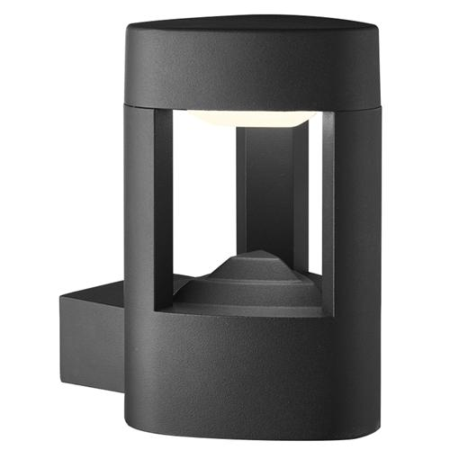 2005GY IP44 LED Dark Grey Outdoor Wall Light