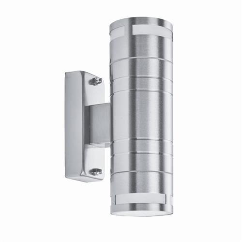 Stainless Steel Cylinder Style Outdoor Wall Light 2018-2-Led