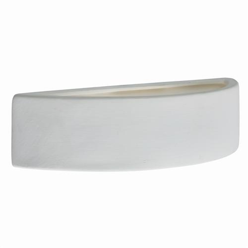2099WH Gypsum White Plaster Wall Light