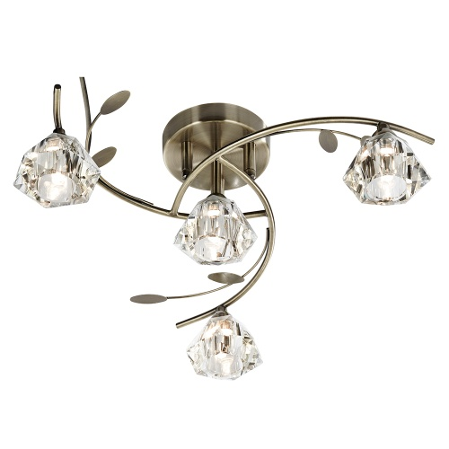 Sierra 4 Light Ceiling Light 2634-4Ab