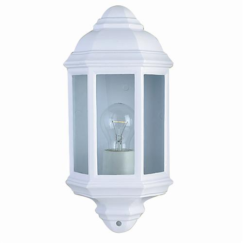 280WH White Outdoor Wall Light