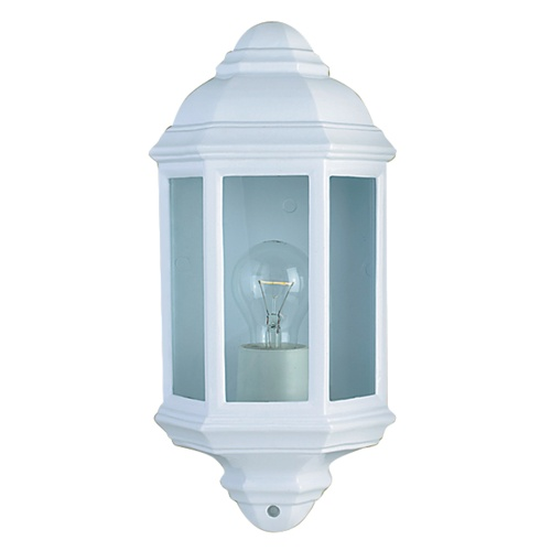 Exterior Wall Lights White : 280WH White Outdoor Wall Light The Lighting Superstore