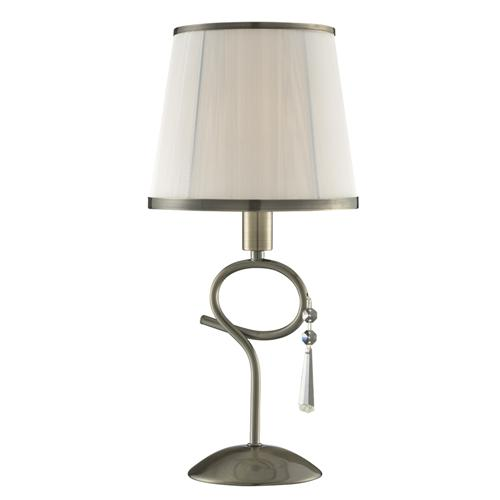 3031-1AB Simplicity Antique Brass Table Lamp
