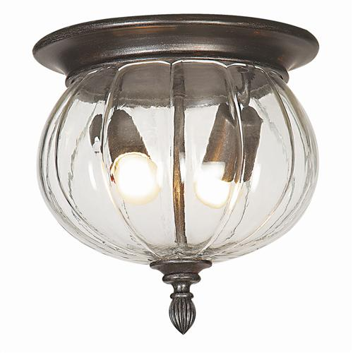 3144BR Canada Weathered Brown Globe Outdoor Ceiling Light