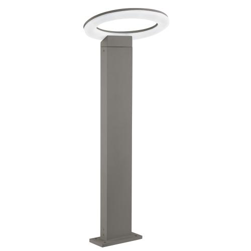 3558-600GY Grey LED Post Light With Frosted Diffuser