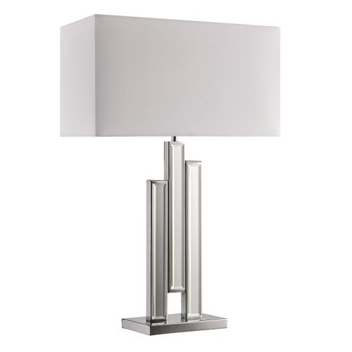 3583CC Chrome Coloumn Table Lamp