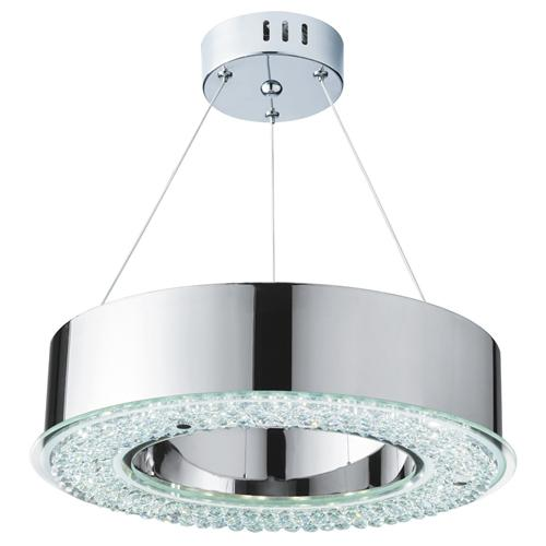 Halo led crystal pendant 4076 48cc the lighting superstore halo led pendant ceiling light 4076 48cc aloadofball Image collections