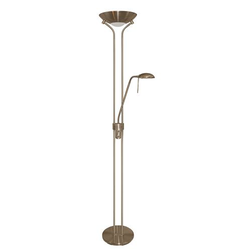 Antique Brass Floor Lamp 4329Ab