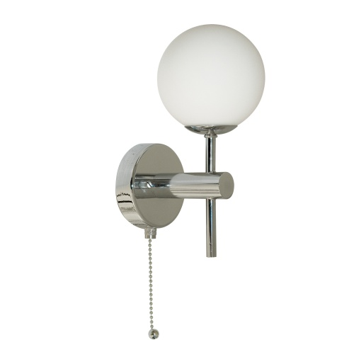 Bathroom Polished Chrome Wall Light 4337-1-LED