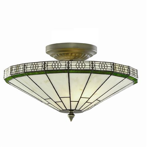 New York Semi Flush Light 4417-17