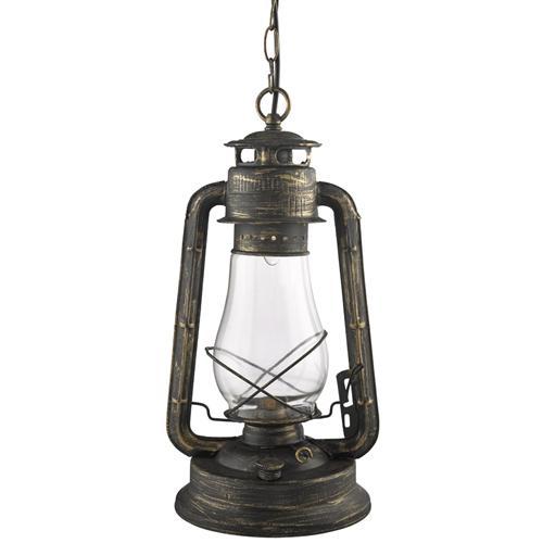Hurricane Lantern Style Pendant Light 4842-1Bg - Hurricane Lantern Pendant 4842-1Bg The Lighting Superstore