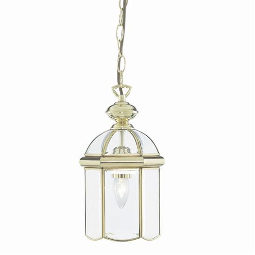 Polished Brass hall lantern 5131PB