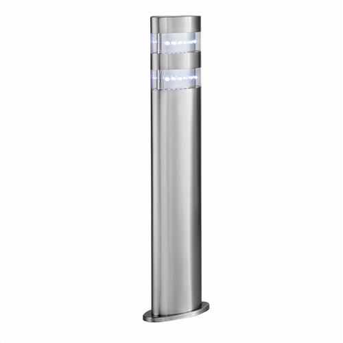 Led Post Light Satin Silver 5304-450